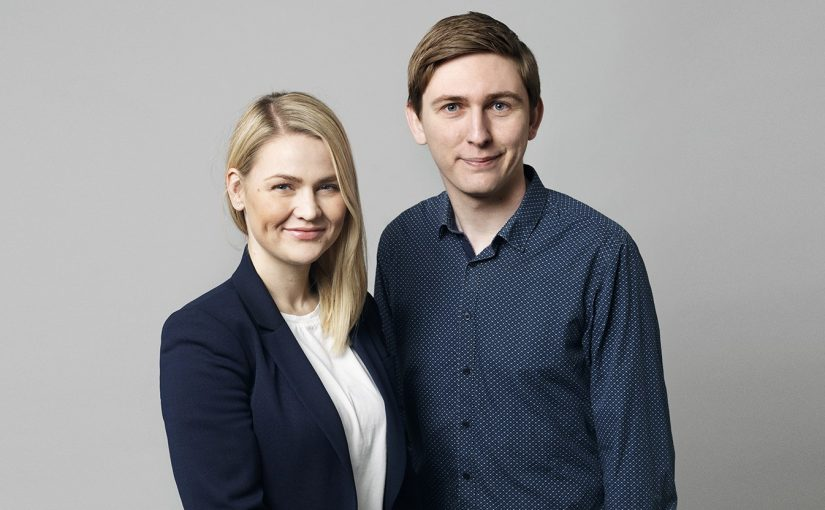 Emil Blücher og Laura Lindahl