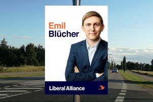 Valgplakat Emil Blücher
