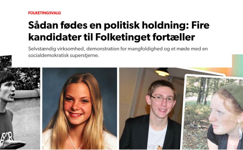 DR.dk – Sådan fødes en politiker